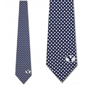 Brigham Young University Diamante Necktie