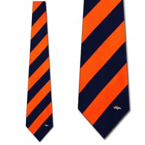 NFL - Denver Broncos Regiment Necktie