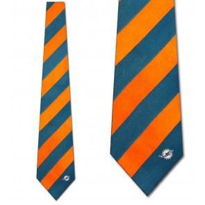 NFL - Miami Dolphins Regiment Necktie