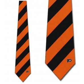 NHL Philadelphia Flyers Regiment Necktie