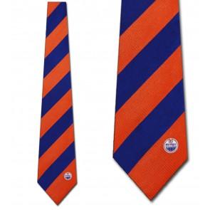 NHL Edmonton Oilers Regiment Necktie