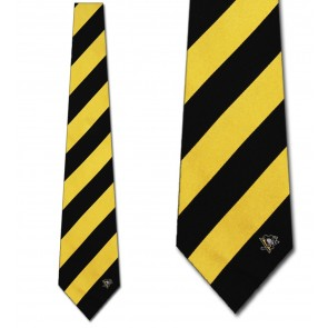 NHL Pittsburgh Penguins Regiment Necktie