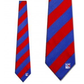 NHL New York Rangers Regiment Necktie