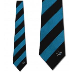NHL San Jose Sharks Regiment Necktie