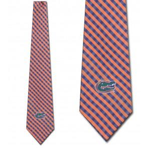 Florida Gators Gingham Neckties
