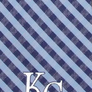 MLB - Kansas City Royals Gingham Necktie