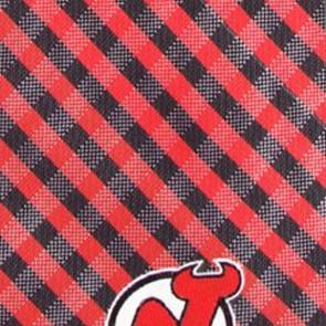 NHL - New Jersey Devils Gingham Necktie