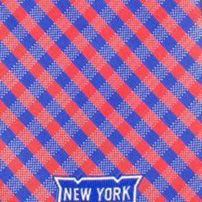 NHL New York Rangers Gingham Necktie