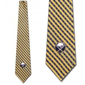 NHL Buffalo Sabres Gingham Necktie