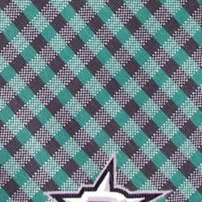 NHL Dallas Stars Gingham Necktie