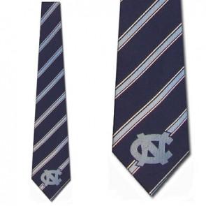 North Carolina Tar Heels Poly Stripe Necktie