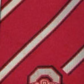 Ohio State Buckeyes Poly Stripe Necktie