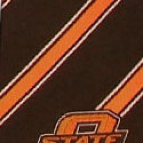 Oklahoma State Cowboys Poly Stripe Necktie