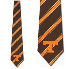 Tennessee Volunteers Poly Stripe Necktie
