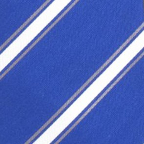Duke Blue Devils Poly Stripe Necktie