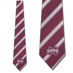Mississippi State Poly Stripe Necktie