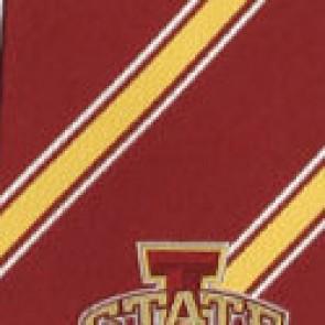 Iowa State Poly Stripe Necktie