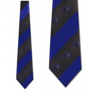 NFL Carolina Panthers Geometric Stripe Necktie
