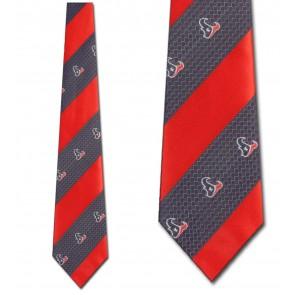 NFL Houston Texans Geometric Stripe Necktie
