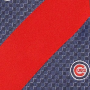 MLB Chicago Cubs Geometric Stripe Necktie