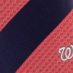 MLB Washington Nationals Geometric Stripe Necktie