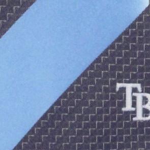 MLB Tampa Bay Rays Geometric Stripe Necktie