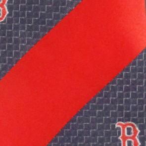 MLB Boston Red Sox Geometric Stripe Necktie