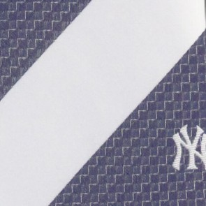MLB New York Yankees Geometric Stripe Necktie