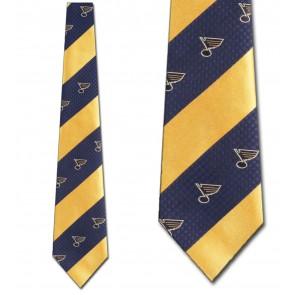 NHL St. Louis Blues Geometric Stripe Necktie