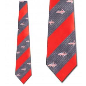 NHL Washington Capitals Geometric Stripe Necktie