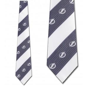 NHL Tampa Bay Lightning Geometric Stripe Necktie
