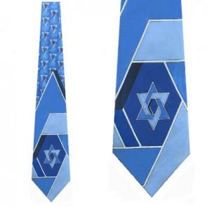Star of David Abstract Necktie