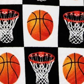 Checkered Basketball Necktie