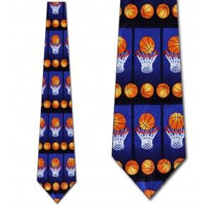 Basketball Panels Allover Necktie