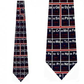 Periodic Table of Elements Necktie