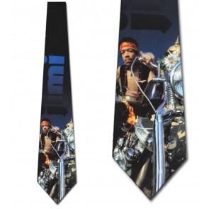 Hendrix on a chopper Necktie