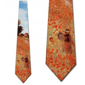 Field of Poppies Necktie