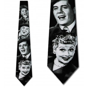 Lucy and Gang Necktie