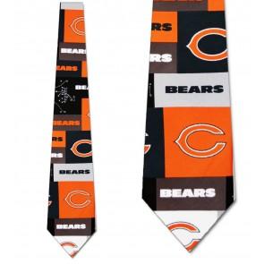 NFL Chicago Bears Block Necktie