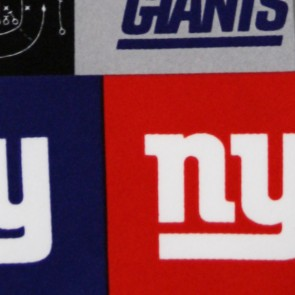 NFL New York Giants Block Necktie