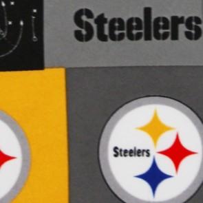 NFL Pittsburgh Steelers Block Necktie