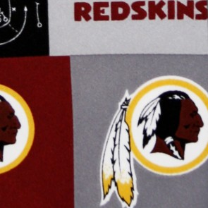 NFL Washington Redskins Block Necktie