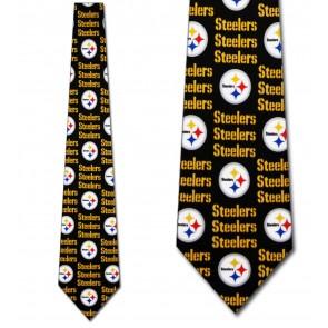NFL Pittsburgh Steelers Threefold Necktie