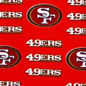 NFL San Francisco 49ers Threefold Necktie