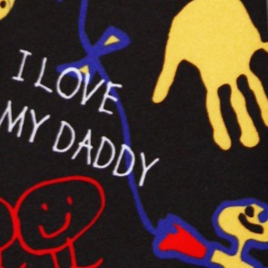 Daddys Drawings Necktie