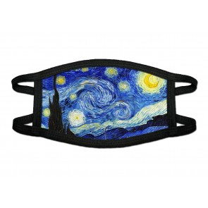 Starry Night Deluxe Face Mask Cloth