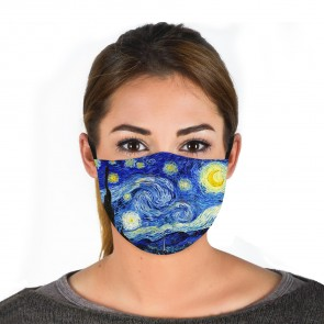 Starry Night Premium Face Mask Cloth