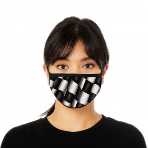 Checkered Flag Deluxe Cloth Face Mask