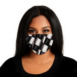 Checkered Flag Premium Cloth Face Mask