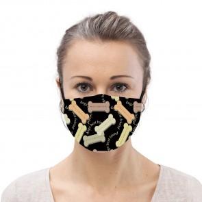Dog Bones Premium Cloth Face Mask